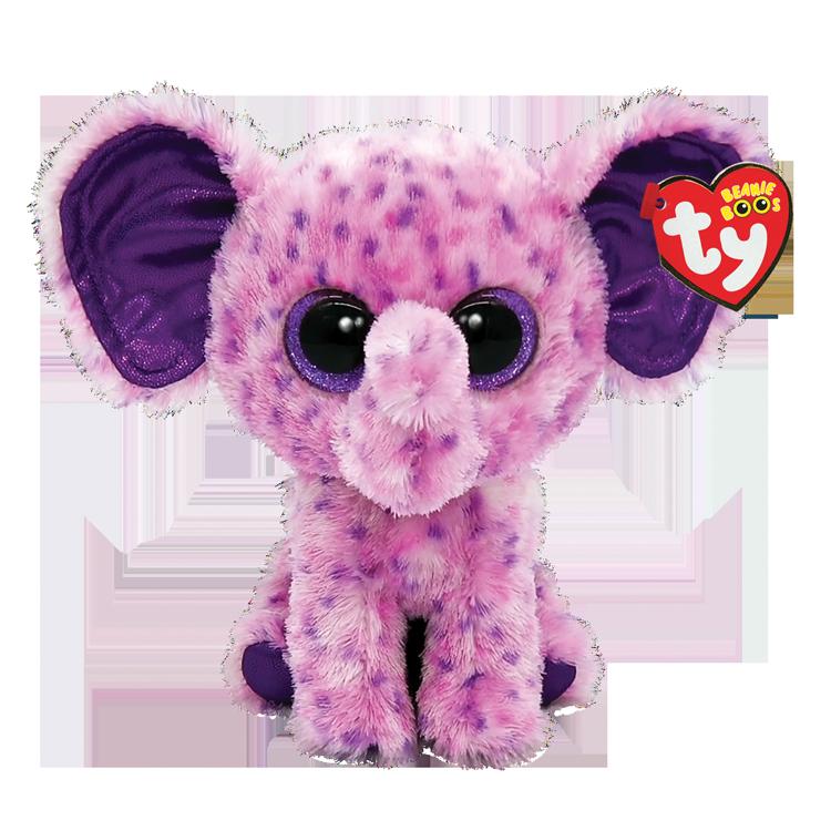 Eva - Pink Speckled Elephant