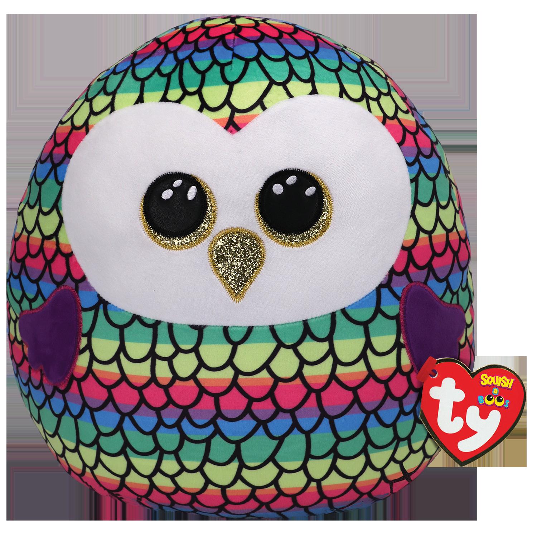 Owen - Rainbow Color Owl