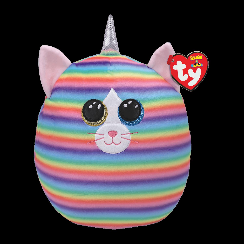 Heather - Pastel Striped Cat Medium