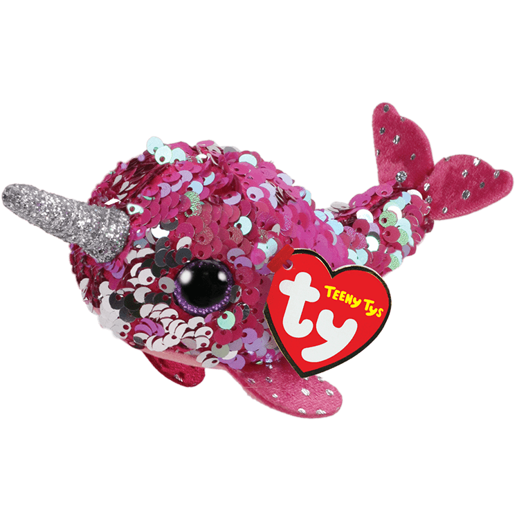 Nelly - Reversible Sequin Pink Narwhal