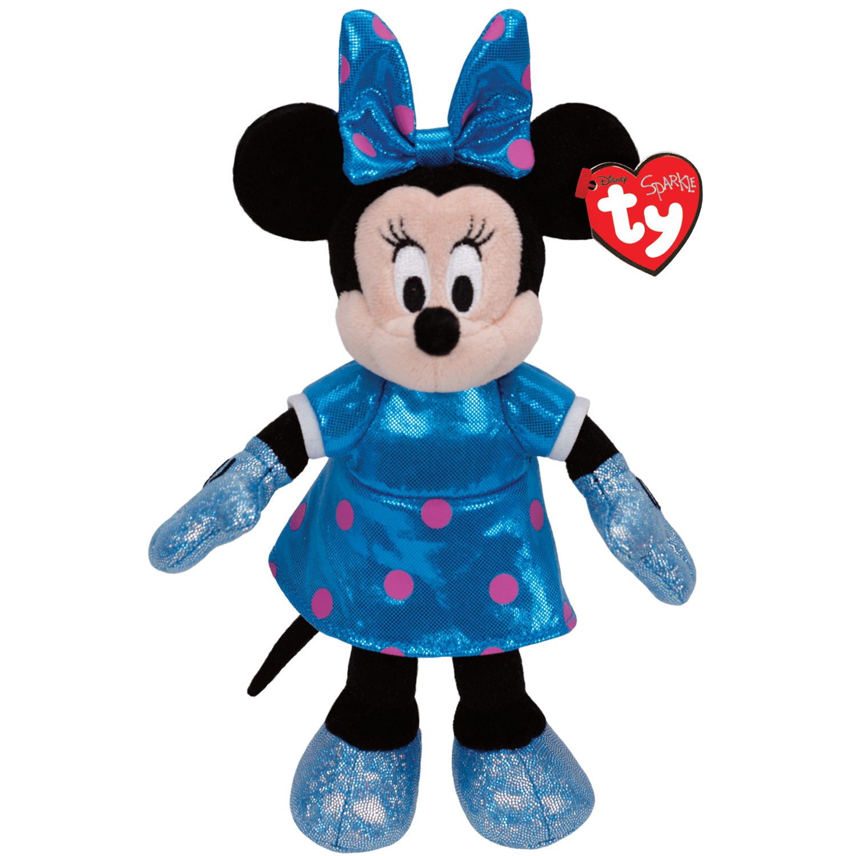 Minnie Mouse - Teal Sparkle Medium