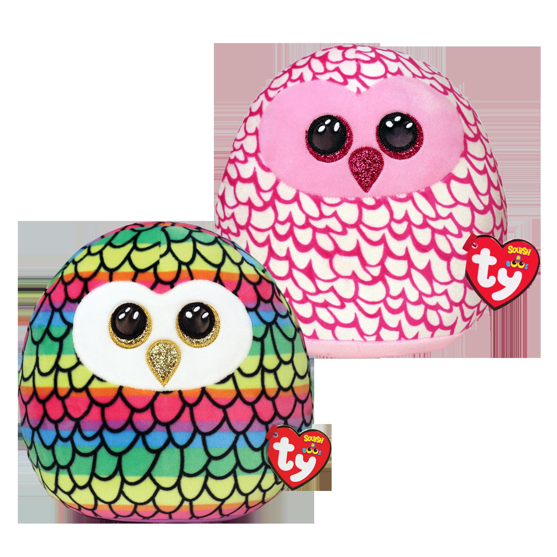 Owl Bundle - Medium Squish A Boos