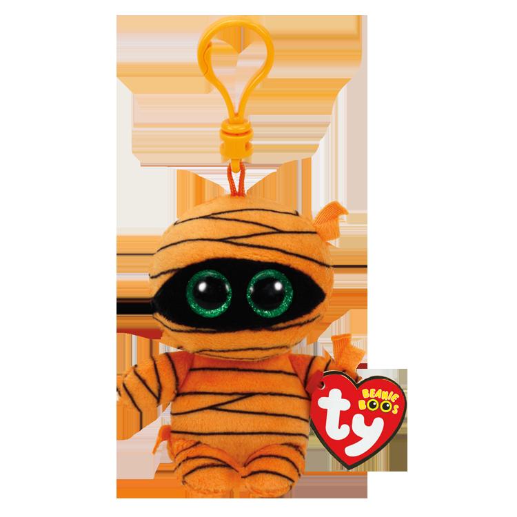 Mask - Orange Mummy Clip