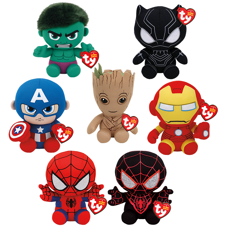 Marvel Bundle - Beanie Babies