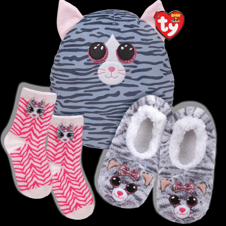 Kiki Kozy Bundle - Slippers, Socks And Squish A Boo