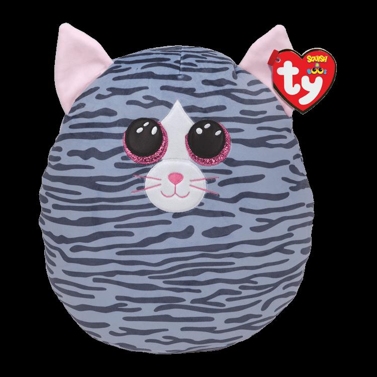 Kiki - Grey Striped Cat Medium