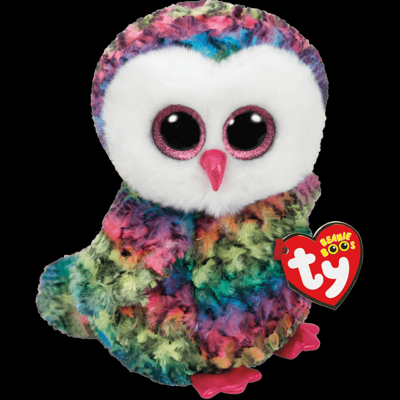Owen - Multicolor Owl Medium