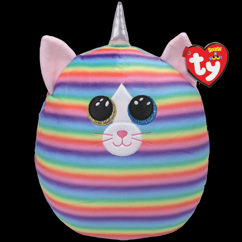 Heather - Pastel Striped Cat Large
