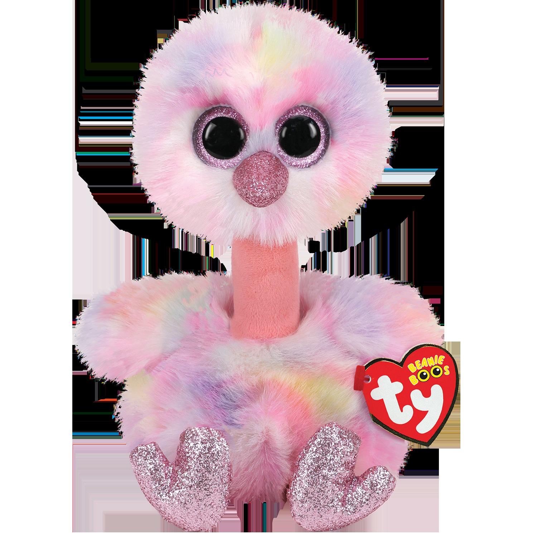 Avery - Pink Pastel Ostrich Medium