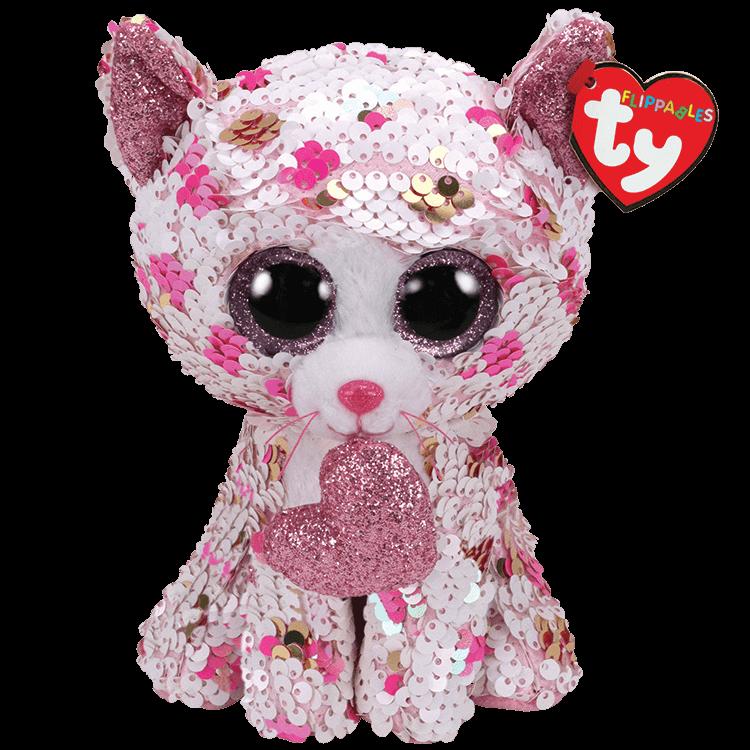 Cupid - Sequin Polka Dot Cat