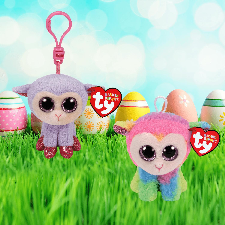 Easter Lambies Bundle - Basket Beanies