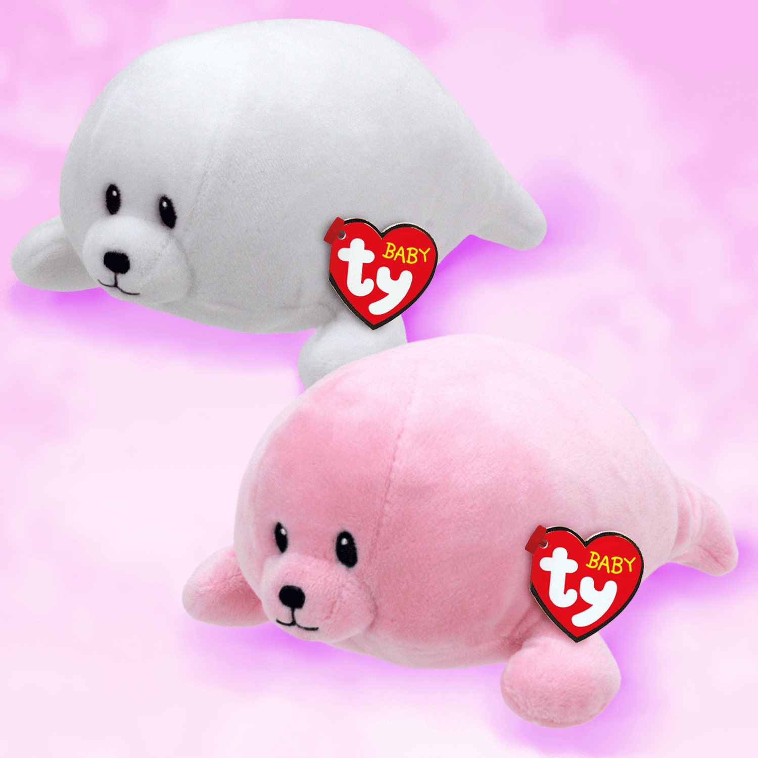 Pink Seal Bundle - Baby Ty Medium