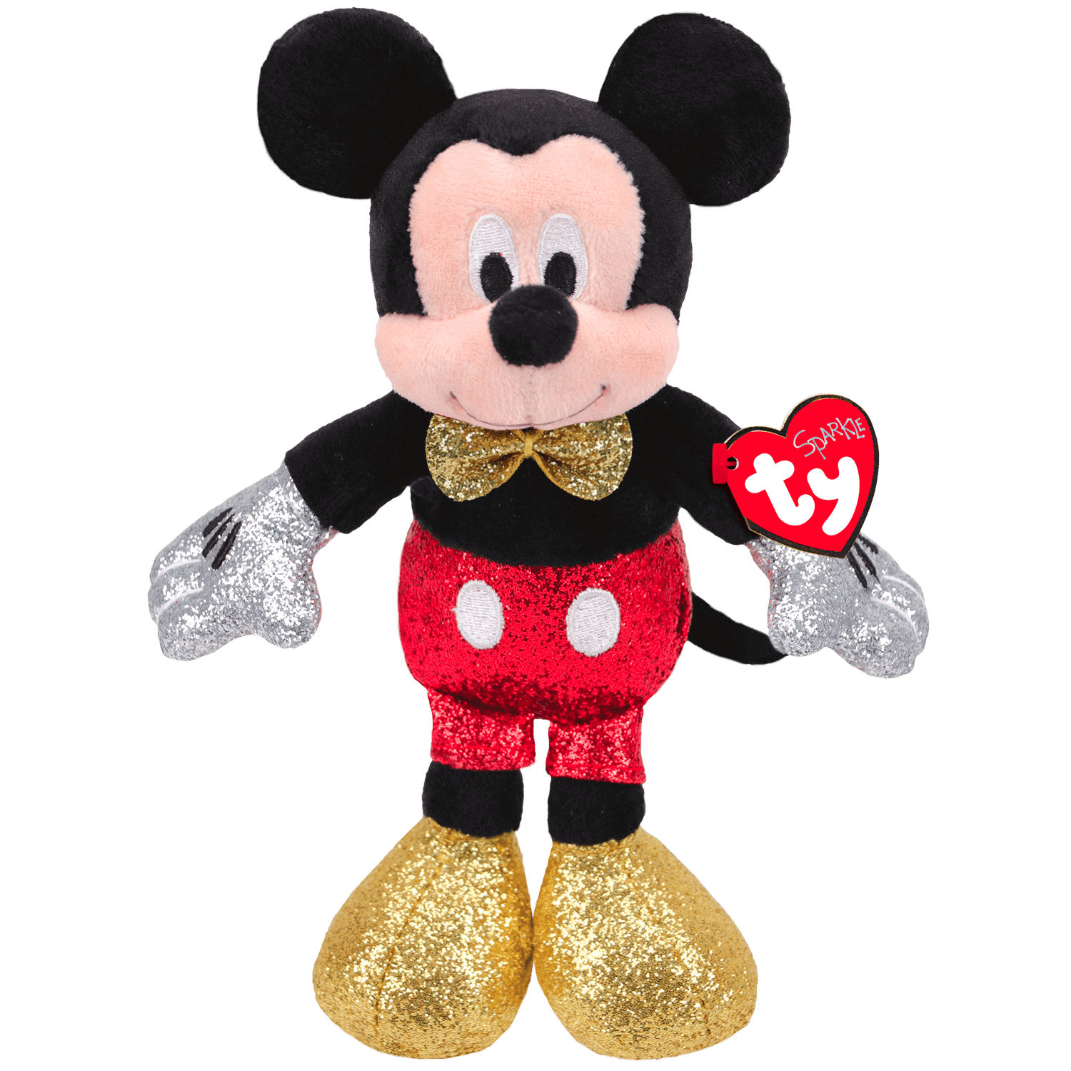 Mickey Mouse - Red Sparkle