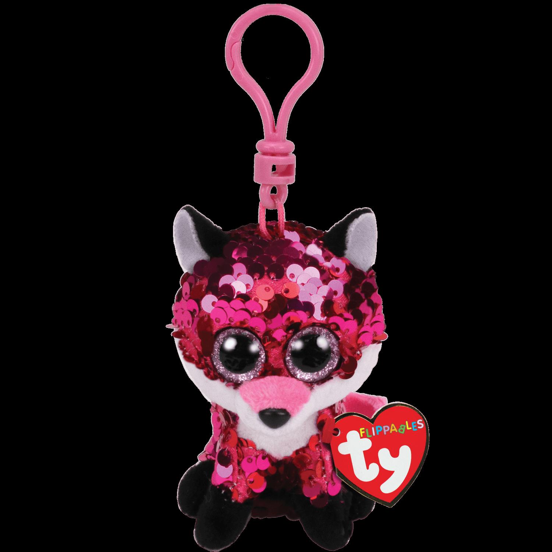Jewel - Reversible Sequin Fox Clip