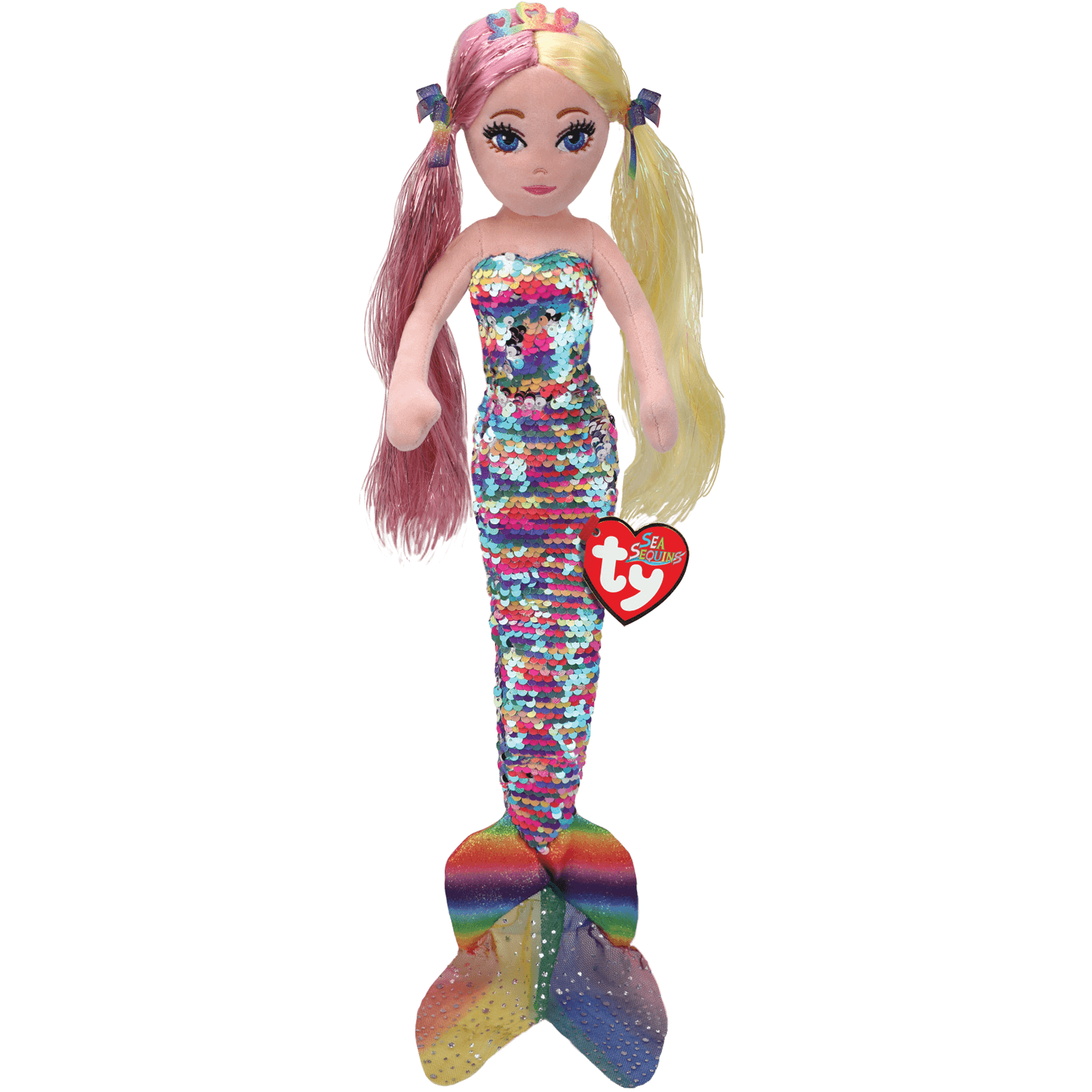Anastasia - Sequin Rainbow Mermaid Medium