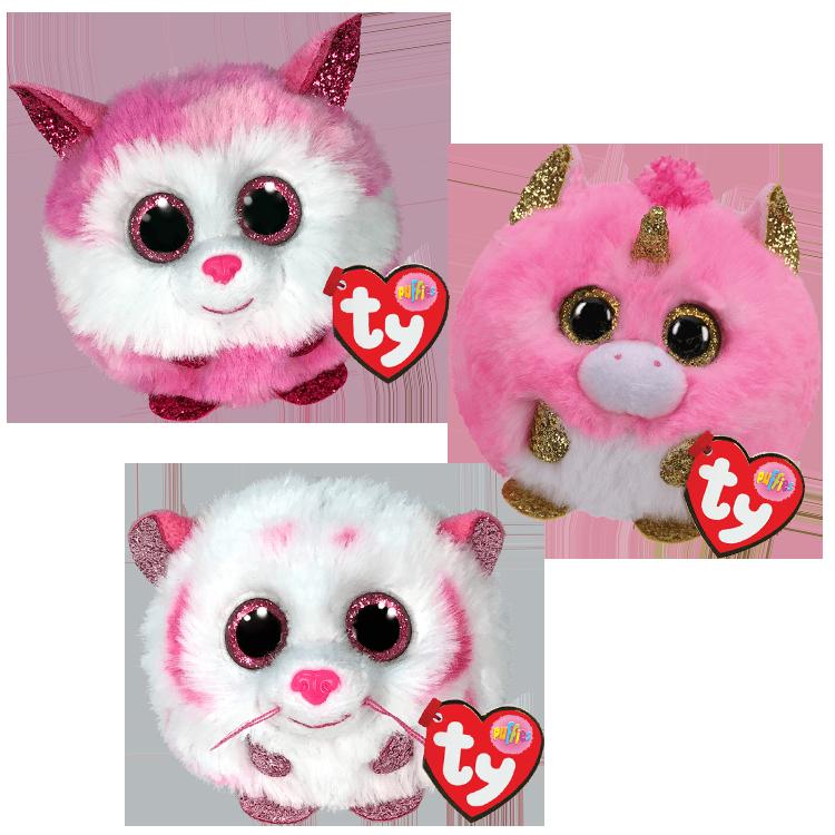 Pinkies Bundle - Ty Puffies
