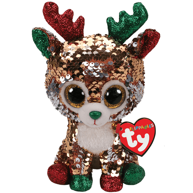 Tegan - Reversible Sequin Reindeer