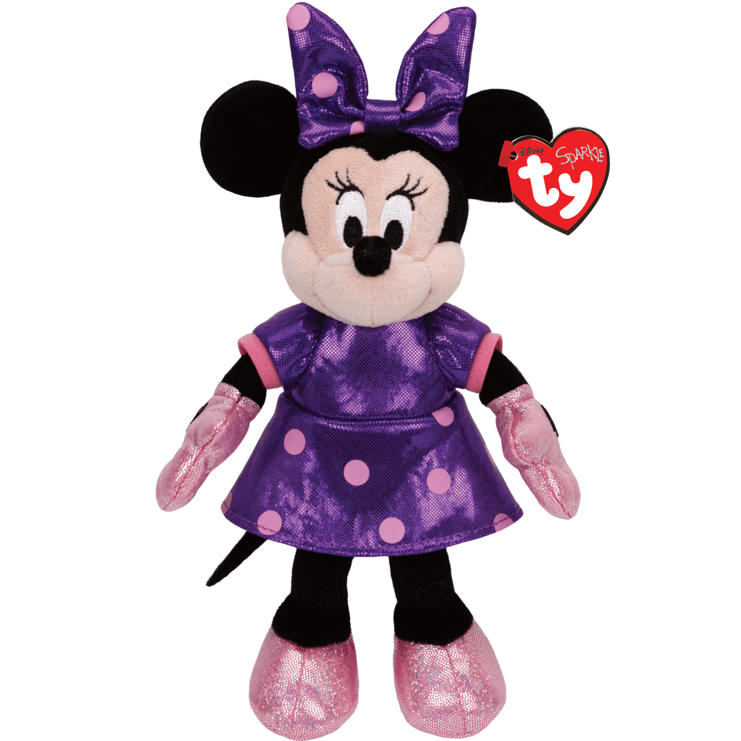 Minnie Mouse - Purple Sparkle Medium