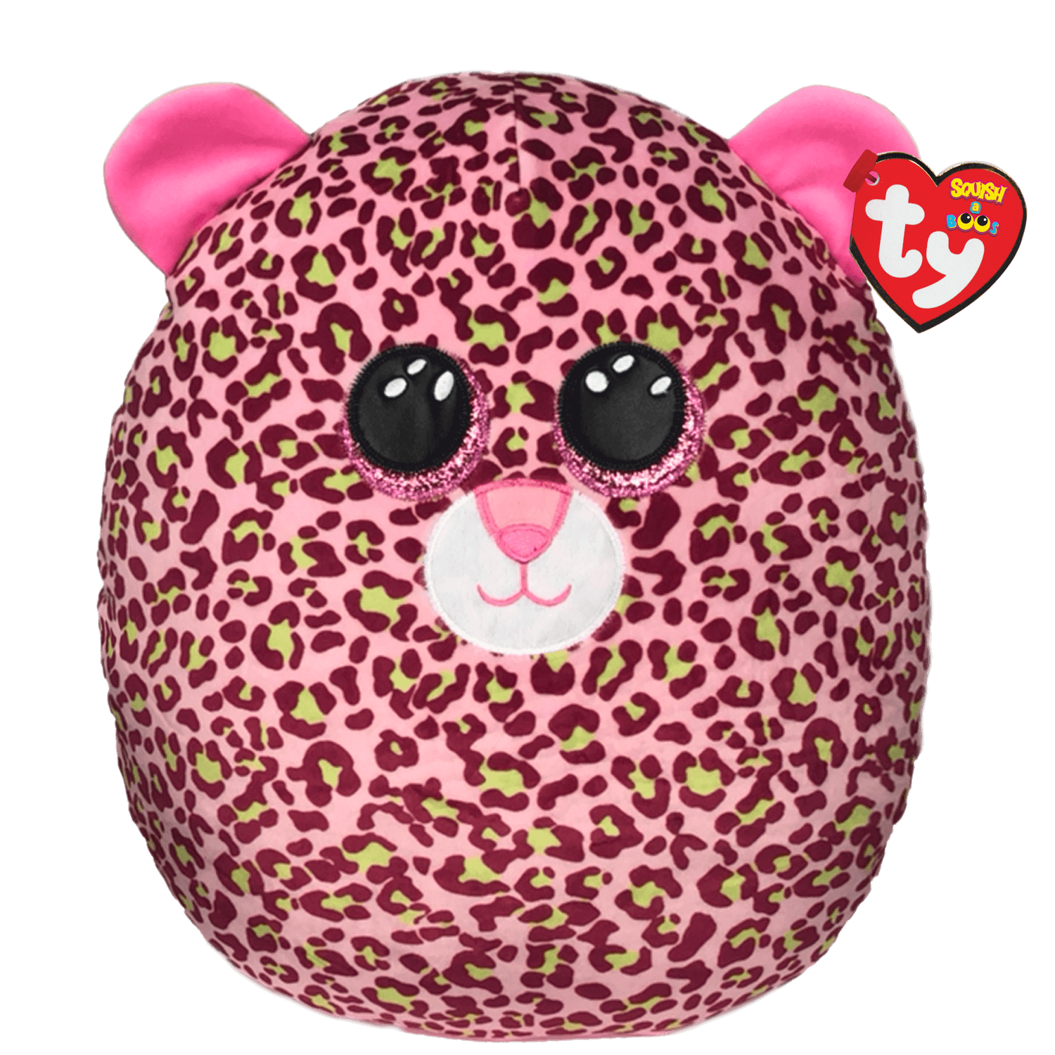Lainey - Pink Leopard Large