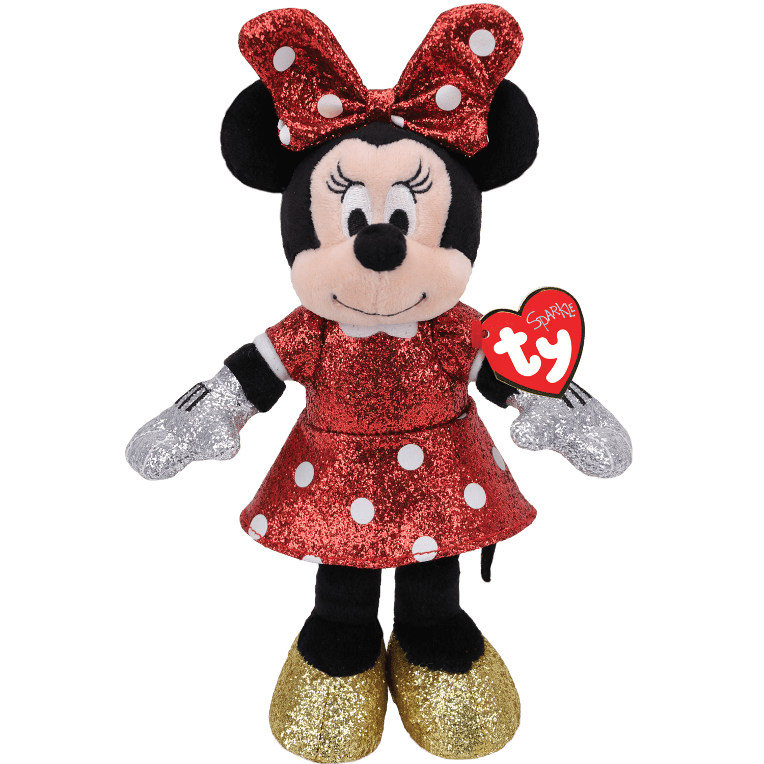 Minnie Mouse - Red Sparkle Medium
