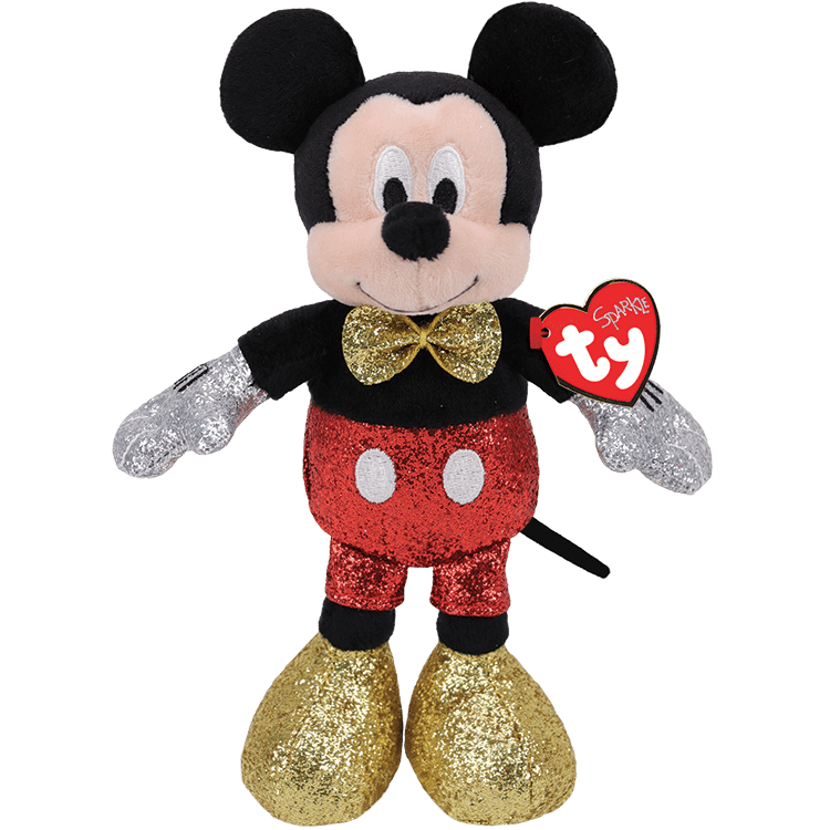 Mickey Mouse - Red Sparkle Medium