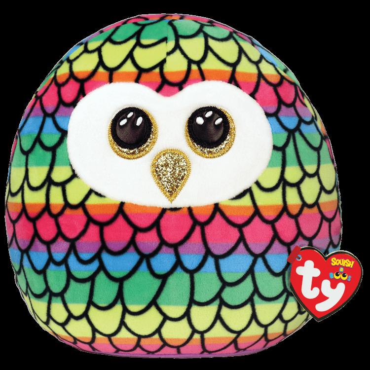 Owen - Rainbow Owl Medium