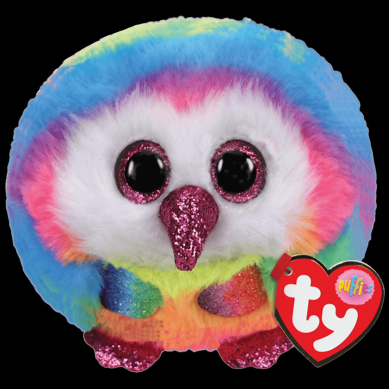 Owen - Multicolor Owl