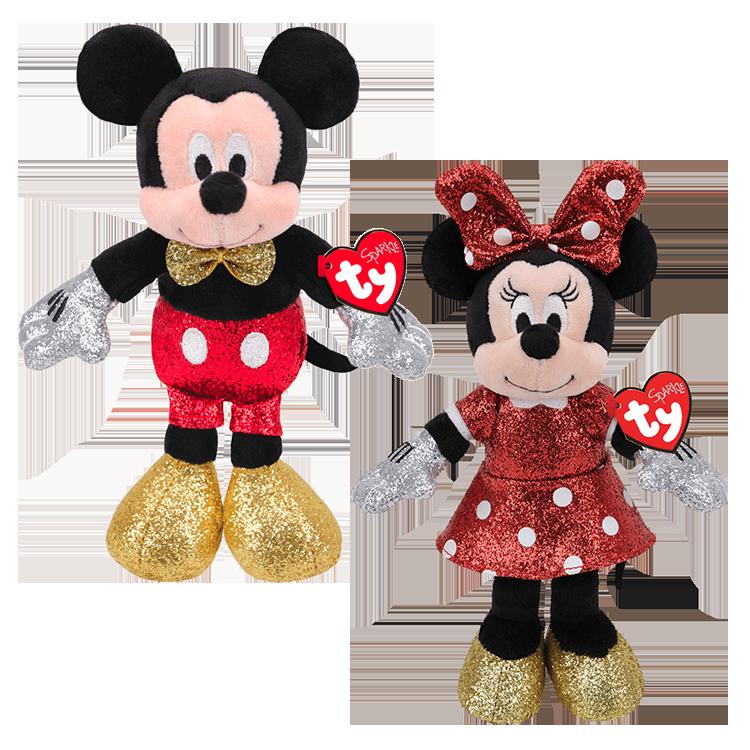 Mickey and Minnie - Disney Beanie Boos