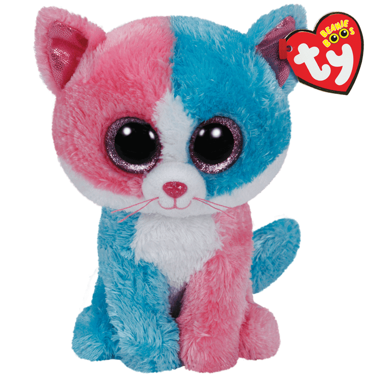 Fiona - Pink And Blue Cat Large