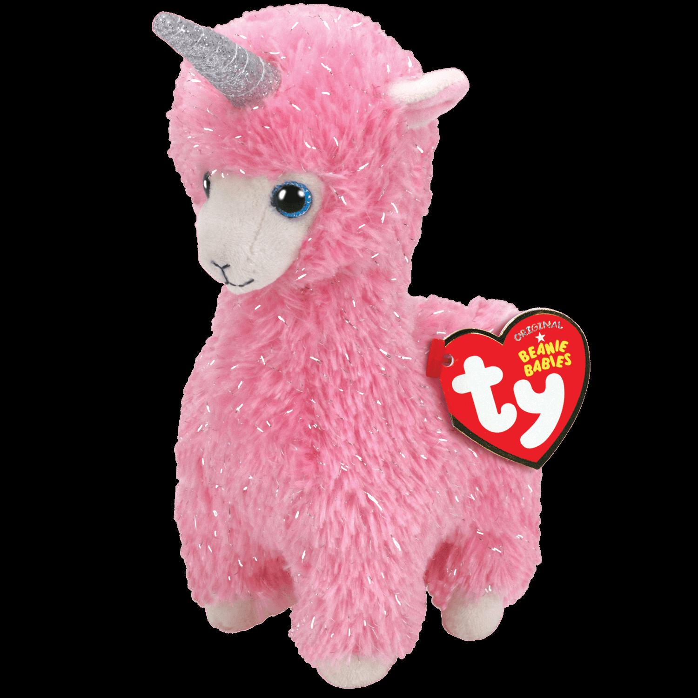 Lana - Pink Llama With Horn