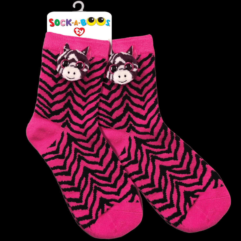 Zoey - Zebra Socks
