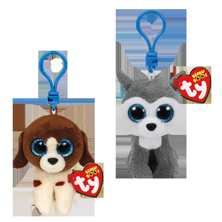 Playful Pups Bundle - Beanie Boo Clips