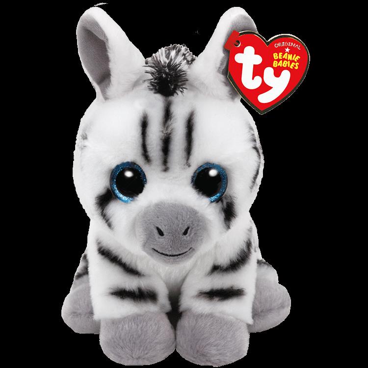 Stripes - White Zebra With Black Stripes
