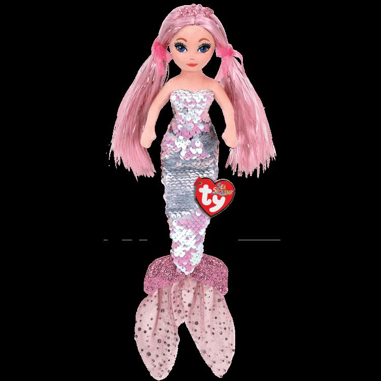 Cora - Sequin Pink Mermaid Medium
