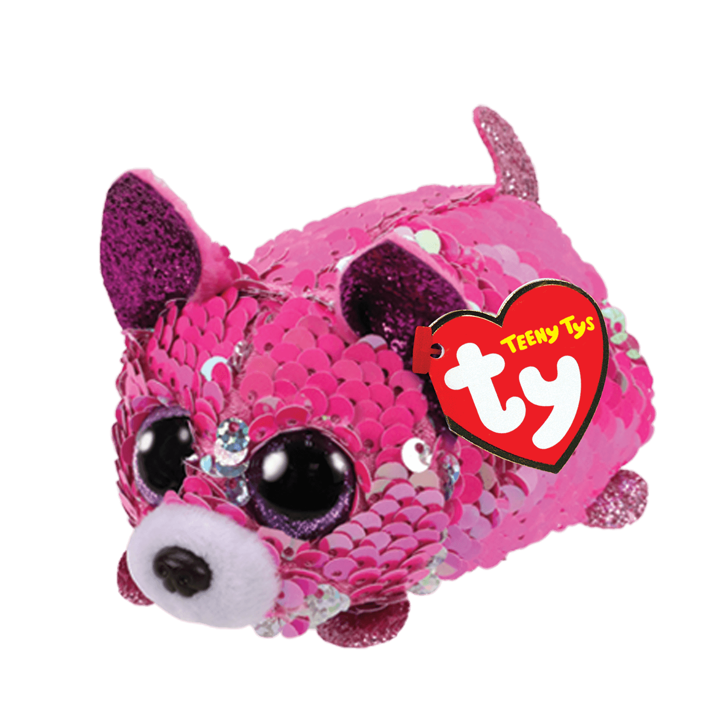 Yappy - Reversible Sequin Pink Chihuahua