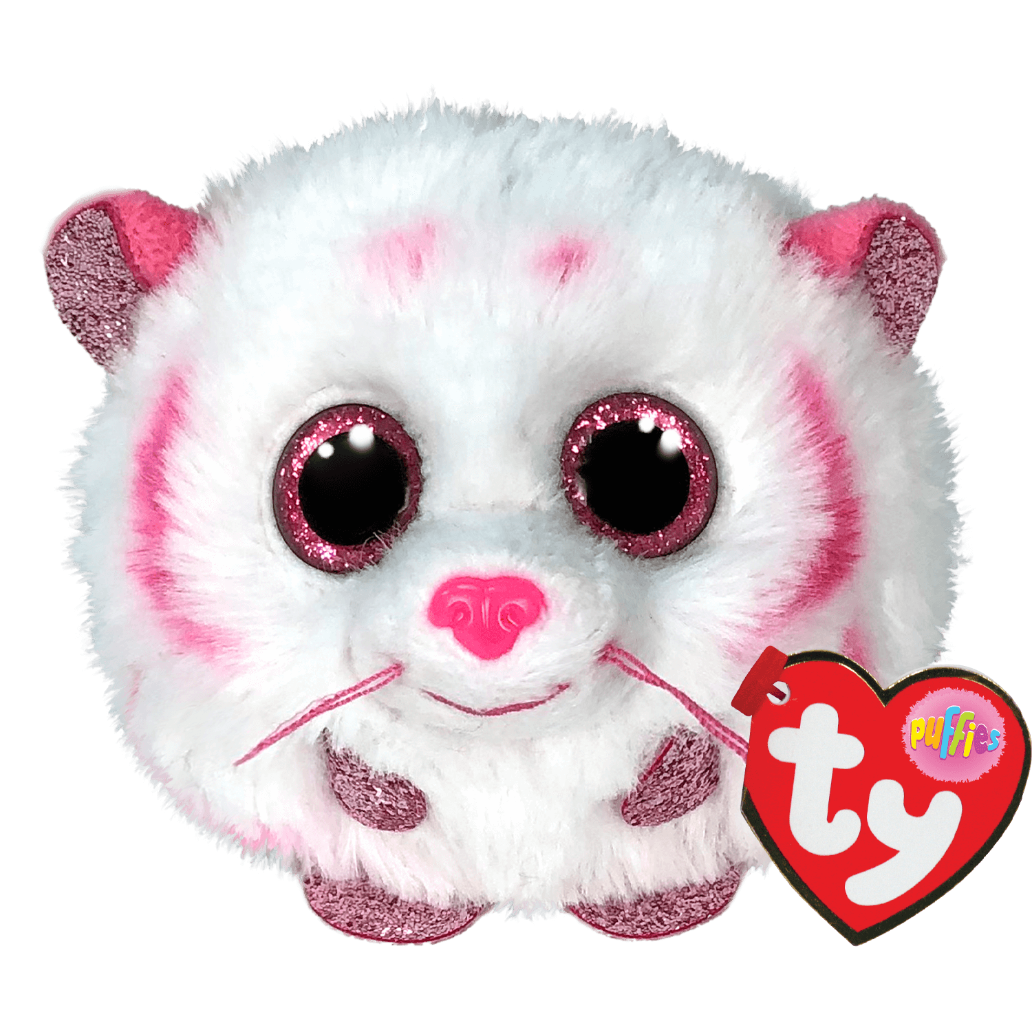 Tabor - Pink And White Tiger
