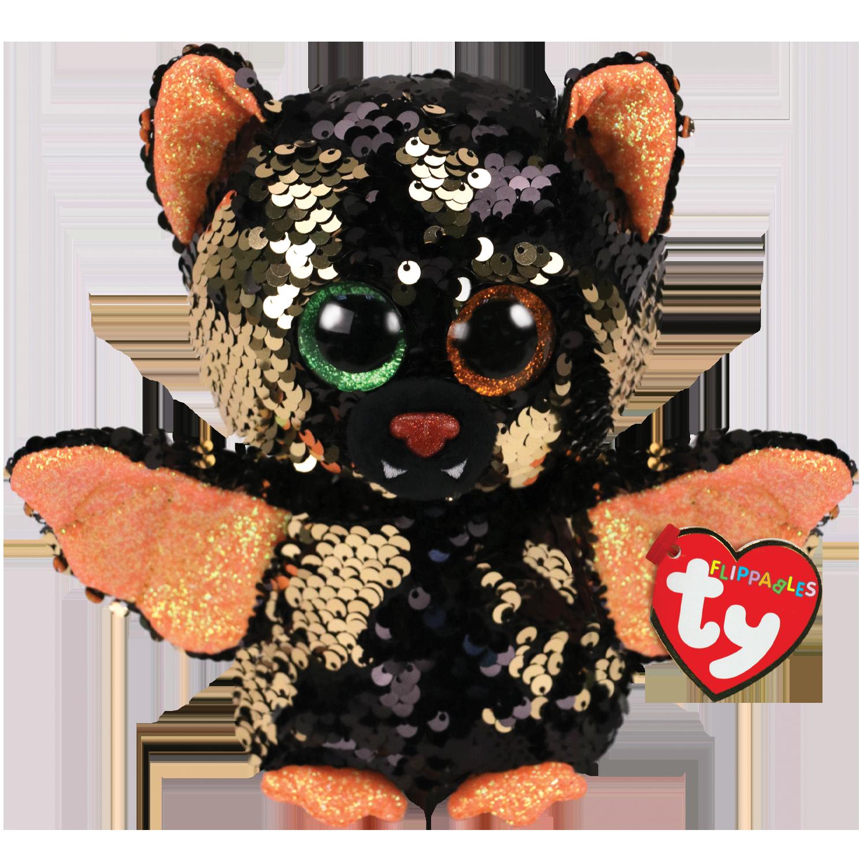 Omen - Reversible Sequin Bat Ornament