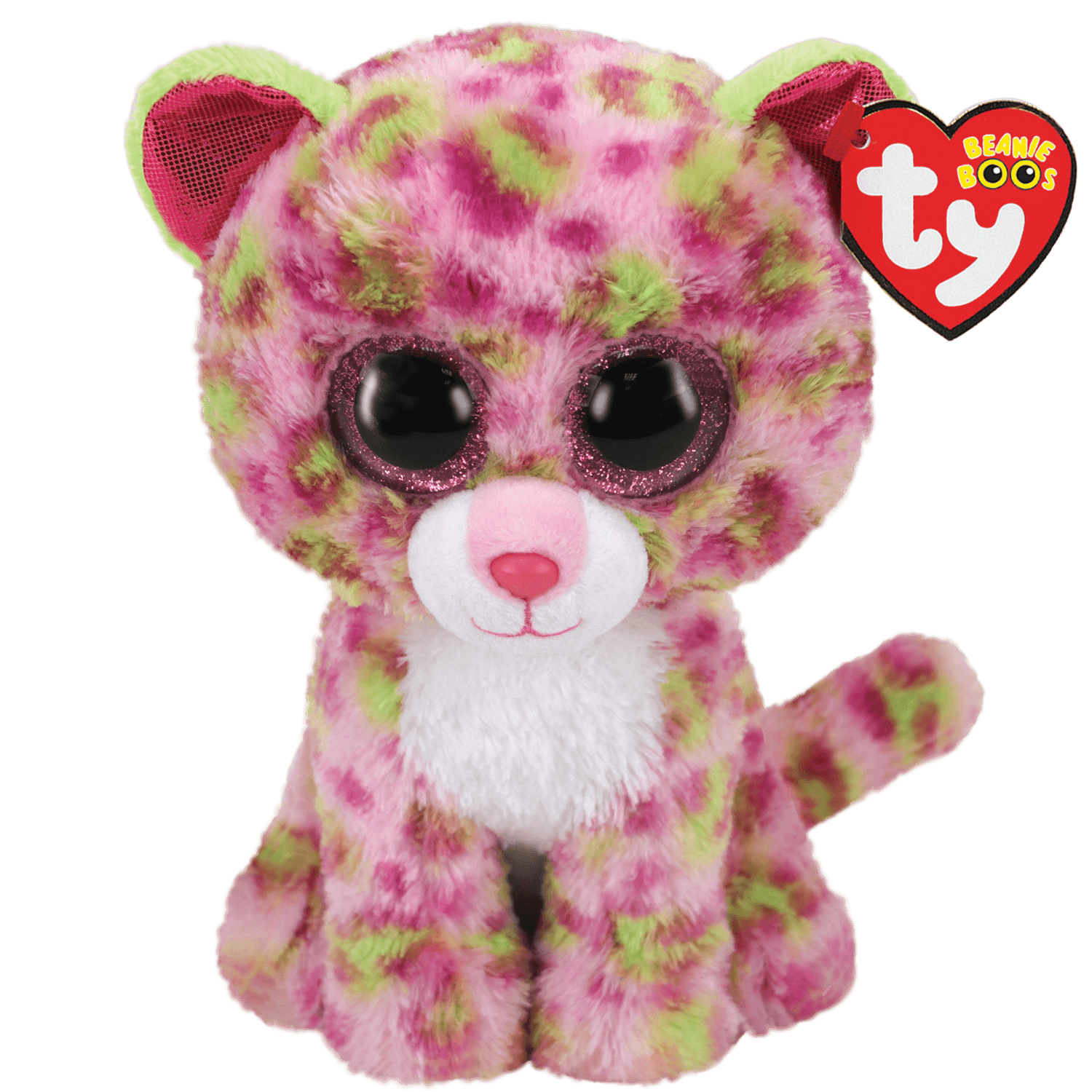 Lainey - Pink And Green Leopard